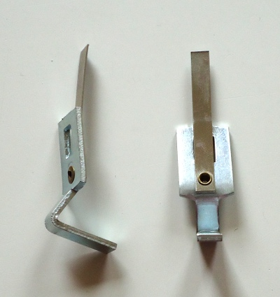 klemveer voor stang 4x4 mm of 5x5 mm