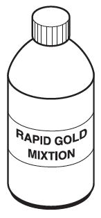 rapid gold mixtion 500 ml