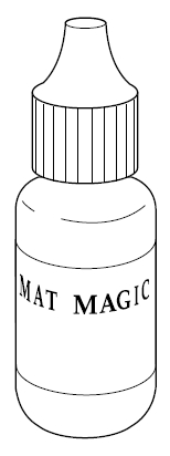 Inkt Kleur Burgundy Mat Magic 15 Ml