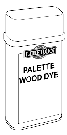 Palette Wood Dye Kleur Dark Oak