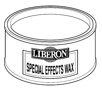 Special Effects Wax Black Patinating - Zwart
