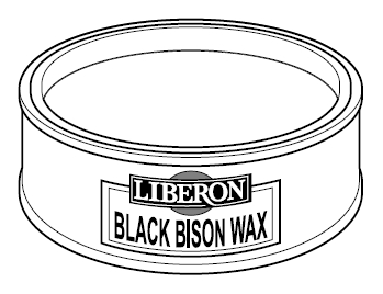 wax black bison kleur clear