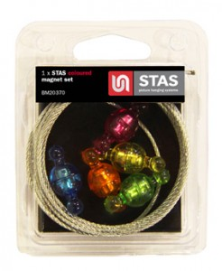 Coloured Magnet Set Blister Stas