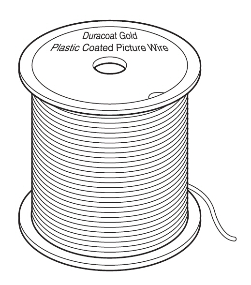 Staaldraad Duracoat-gold 2 2 Mm 152 M 19 5 Kg