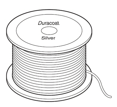 staaldraad Duracoat Silver 0,9 mm 457 m 6,8 kg