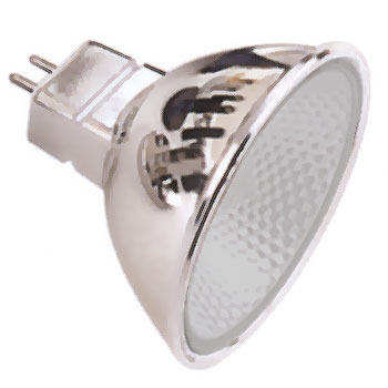 halogeen lamp helder frosted 20W