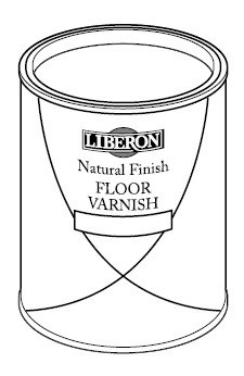 natural finish floor varnish 750 ml