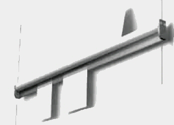 paper rail on rail alu 100 cm