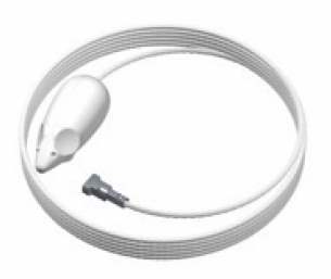 picture mouse wit 150 cm kabel met twister kop