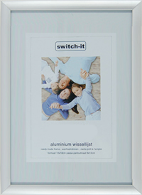 switch it budget lijst 40x40cm S 1cm aluminium rand