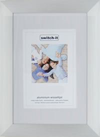 Switch-it Budget Lijst 20x20cm Xl 3cm Aluminium Rand